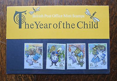 A set of stamps from the 1970s.  Presentation pack.  Vintage stamps.