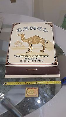 Vintage Camel Cigarettes Giant Matches Advertising
