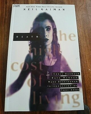 Death the High Cost of Living by Neil Gaiman (Paperback, 1998)
