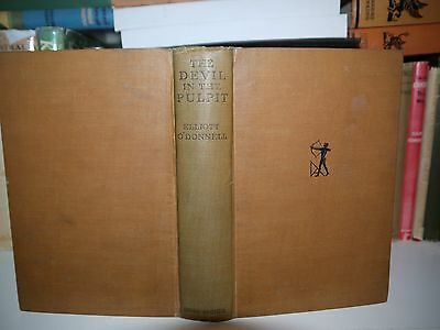 Elliott O'donnell - The Devil In The Pulpit Assumed 1St Ed