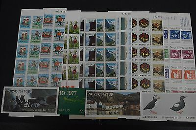norway stamp booklets x14 1979-97 NHM