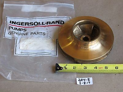 "+New Ingersol Rand 2Rvn3Ax2-165002 Pump Impeller  5.50"" Static Balance"