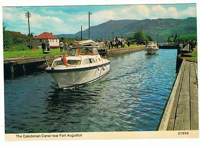 Unused Hail Caledonia P/C The Caledonian Canal near Fort Augustus