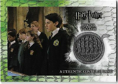 Harry Potter Heroes & Villains Costume Card Rare C1 304/380 James Phelps Fred