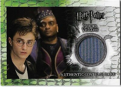 Harry Potter Heroes & Villains Costume Card Rare C3 306/460 Kingsley Shacklebolt