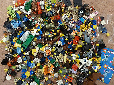 Large lot of Lego Minifigures Spares and Accessories (3)