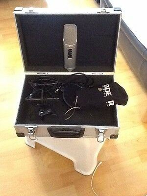 Rode Nt2A  Studio Microphone With Case And Accesories