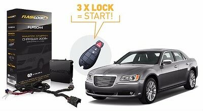 Flashlogic Remote Start for Dodge Charger 2008 to 2010 Easy Install Factory FOB