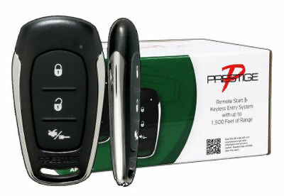 3X Audiovox APS57E Prestige Remote Car Auto Start & Keyless Entry