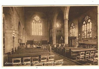 Used Sepia Frith P/C Leominster Priory Church, 1938
