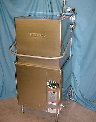 NICE! ~ Hobart AM15 Stainless Steel Commercial Upright Dishwasher ML-130038 3PH