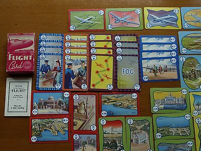 Vintage Card Game Flight 1940's 50's 44 cards complete with Rules
