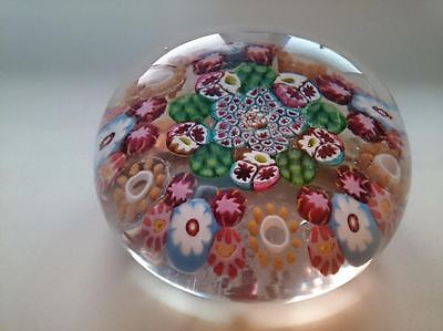 Paul Ysart Rare Art Glass Paperweight