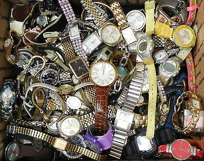 14+ Pounds Watch Lot Mens Womens Watches Watch For Parts Repair Harvest