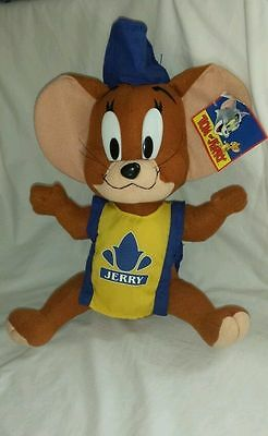 "Vintage Jerry Mouse Plush Two Mouseketeers 13"" Rare Stuffed Animal Classic HTF"