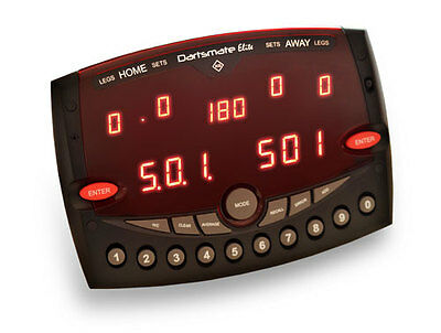 Dartsmate Elite Electronic Darts Scorer LED Machine Man Cave Pub League Ton Club