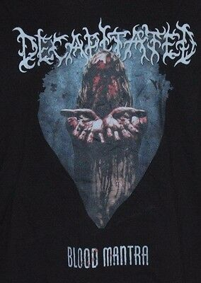T Shirt DECAPITATED Death Metal BLOOD MANTRA UNWORN LARGE