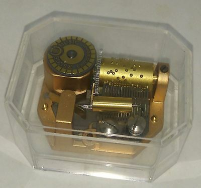 """rare vintage REUGE Music Box """"Titanic"""" My Heart Will Go On"""