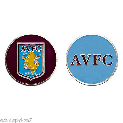 Aston Villa Football Club Golf Ball Marker
