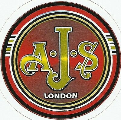 AJS  MOTORCYCLE Sticker Decal