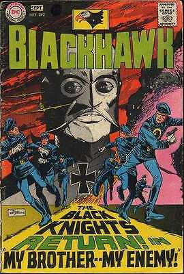 Blackhawk (1944 series) #242 in Very Good condition. FREE bag/board