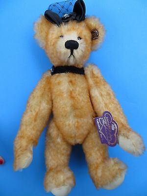 "Annette Funicello 12"" Mohair Jointed Victorian Bear ""Miss Lucy"" LE 422/5000 Mint"