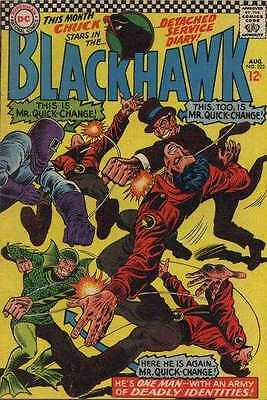 Blackhawk (1944 series) #223 in Very Good + condition. FREE bag/board