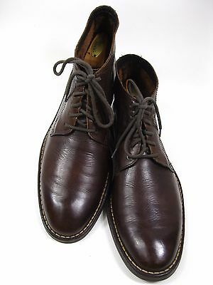 COLE HAAN Men's Brown Leather Chukka Ankle Boots Size 11 M