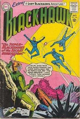 Blackhawk (1944 series) #186 in Very Good condition. FREE bag/board