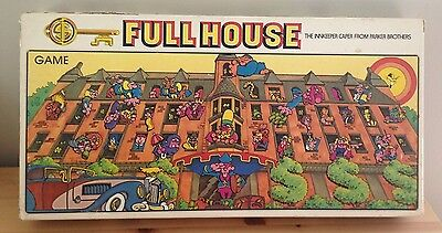 Full House Board Game Vintage 1979 Parker Brothers Innkeeper Caper 100% Complete