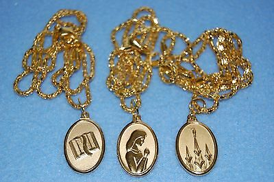 VINTAGE LDS Mormon Young Womens Personal Progress Pendant/Necklace Jewelry