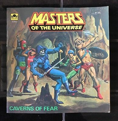 MASTERS OF THE UNIVERSE 'Caverns Of Fear' VINTAGE COMIC BOOK HE-MAN 1983