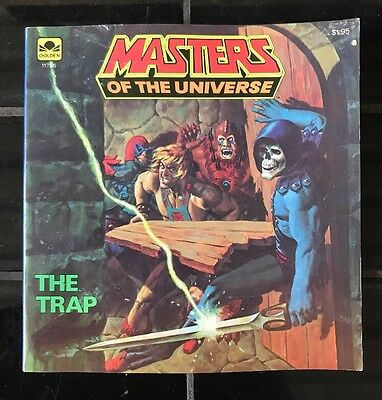 MASTERS OF THE UNIVERSE 'The Trap' VINTAGE COMIC BOOK HE-MAN 1983