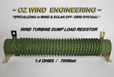 Wind Turbine Dump / Diversion Load 1.4Ohm 700W Resistor