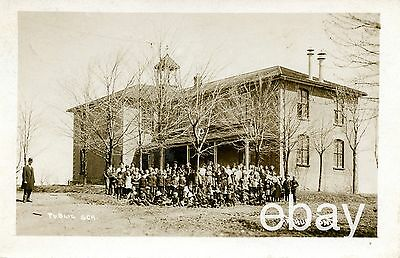 Rppc Arthur Ontario Photo Postcard Ontario Public School Children 1914