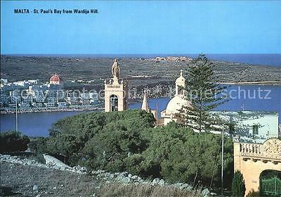 72564658 St Pauls Bay From Wardija Hill Malta