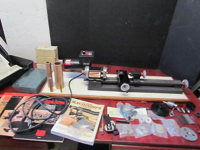 Sherline Model 4400 Miniature Lathe With Tooling