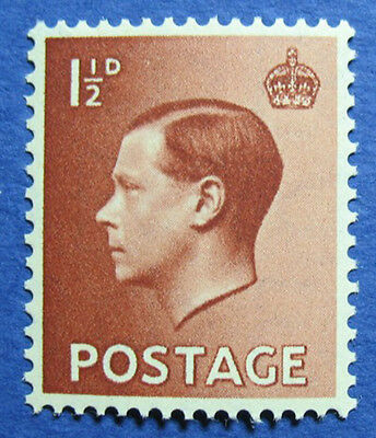 1936 GREAT BRITAIN 1 1/2d Scott# 232 S.G.#459 UNUSED NH CS04051