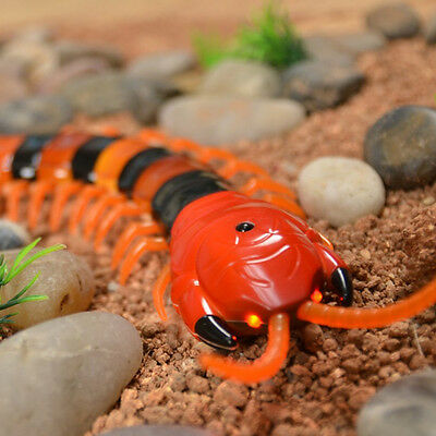 Infrared RC Remote Control Centipede Scolopendra Creepy-crawly Tricky Toy US Hot