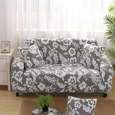 Stretchy 3-Seater Sofa Cover Chair Cover Couch L-Shape Slipcover Protector#2