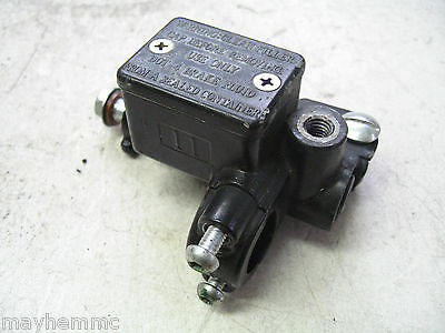 Piaggio Typhoon 50 2T 2011 My10 Front Brake Master Cylinder *fast Postage*