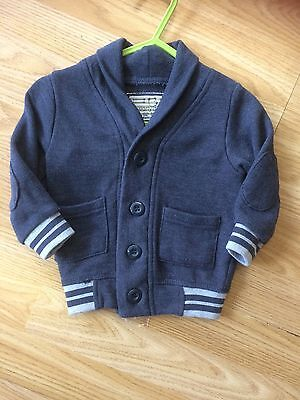 Baby Boys Cardigan Early Days Age 6-9 Months