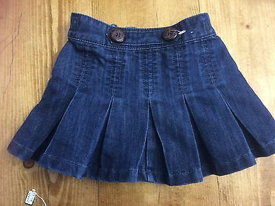 Girls Next Denim Skirt Age 12-18 Months