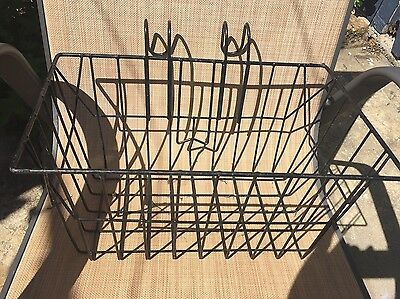 Black Wire Bike Basket In Good Condition Pick Up Only