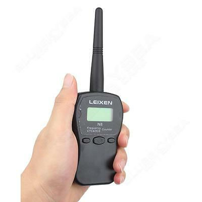 LEIXEN N8 1MHz-1000MHz CTC/DCS 46mA Frequency Counter Black for Mobile Radio