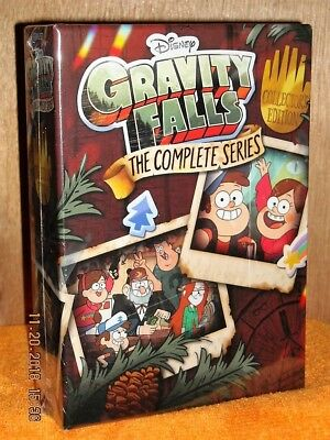 Gravity Falls The Complete Series (DVD, 2018, 7-Disc Set) NEW DISNEY 40 Episodes