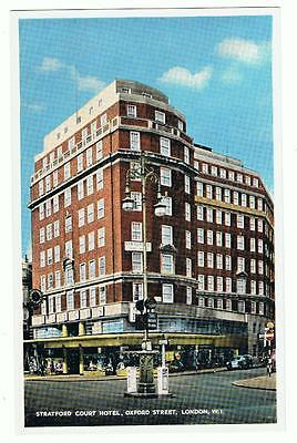 Unused Washington Group Hotel P/C Stratford Court Hotel, Oxford Street, London