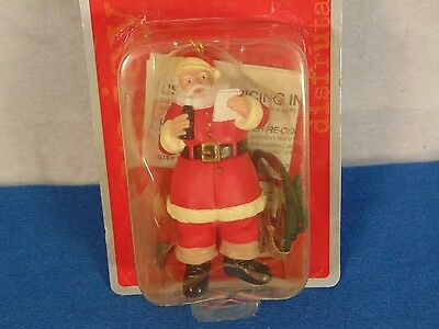 Coca Cola Trim A Tree Illuminated Collection Santa Claus  Ornament Nip