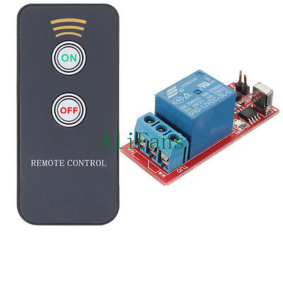 12V One Channel Infrared Switch Relay Driving Module Board Remote Control LED