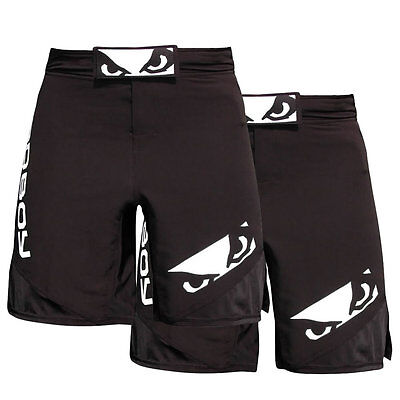 ON SALE – Bad Boy Legacy 2 MMA Shorts Black – Buy 2 for $49.95